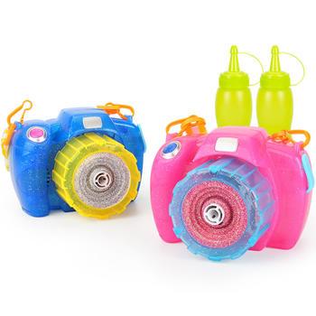 爱亲亲 电动泡泡机相机儿童玩具