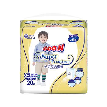 GOO.N大王光羽短裤 XXL20片