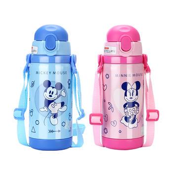 迪士尼儿童保温便携不锈钢吸管杯