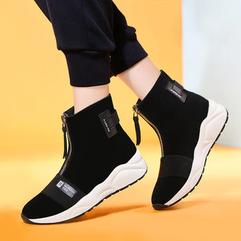 袜子鞋女秋季新款韩版运动鞋