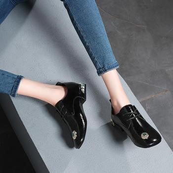 女新款潮流韩版百搭平底单鞋