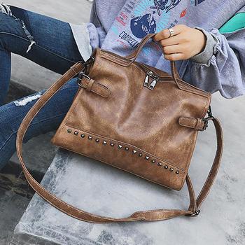 【直降75】卡卡小姐复古手提包
