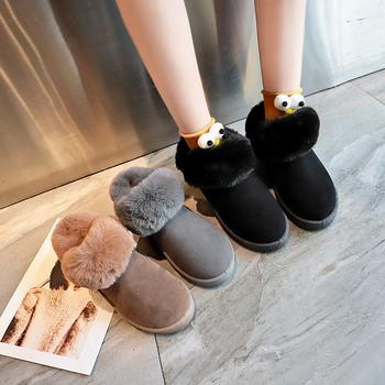 艾微妮热销秋冬款百搭休闲雪地靴