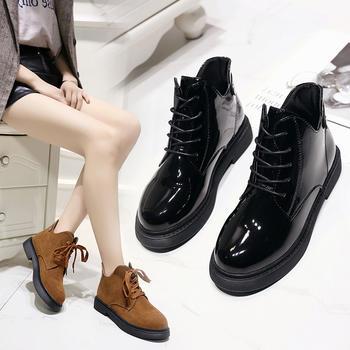 艾微妮韩版热销秋冬新款马丁靴