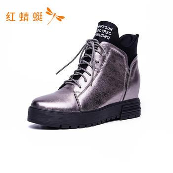 红蜻蜓马丁短靴C780402