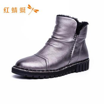 红蜻蜓女鞋冬季新款C781122