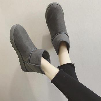 ADK秋冬季新款加绒雪地靴短靴