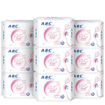 ABC 卫生巾夜用280mm8片装9包共72片