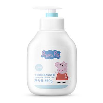 小猪佩奇儿童洗发沐浴二合一天然