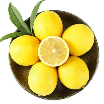 乐知果安岳黄柠檬2斤3斤5斤一级果现摘现发