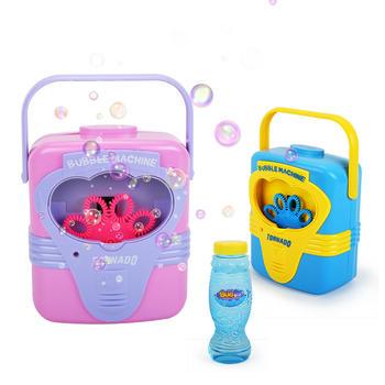 爱亲亲 手提音乐泡泡机洗澡玩具