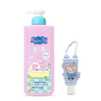 小猪佩奇2件套婴儿沐浴露+洗手液