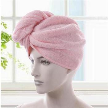 金号纯棉加厚浴帽干发帽擦头毛巾