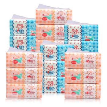 心相印宝宝婴儿抽纸120抽18包整箱