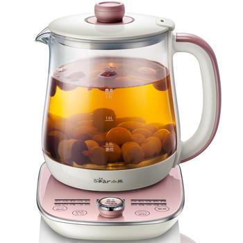 小熊养生壶办公室小型全自动多功能花茶壶1.5L