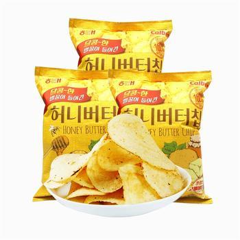 海太 韩国进口蜂蜜黄油薯片180g