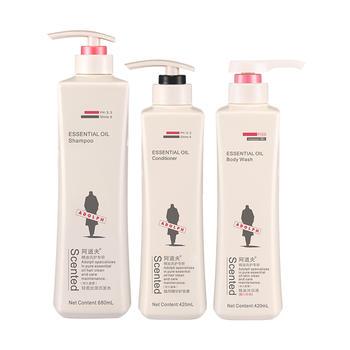 阿道夫轻柔丝滑洗发护发沐浴套装,680ml+420ml+420ml