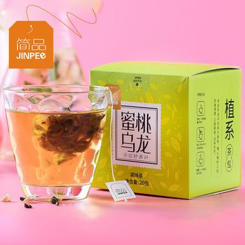 简品蜜桃乌龙茶10包独立包装花果粒茶