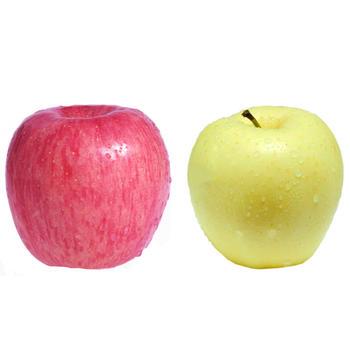 精品红富士黄元帅混合苹果5斤装