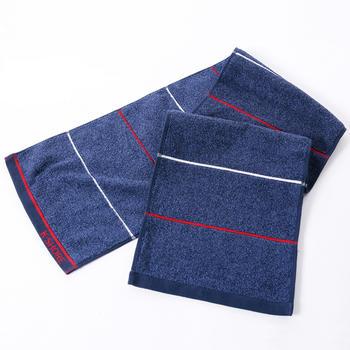 金号纯棉加长运动巾时尚大毛巾