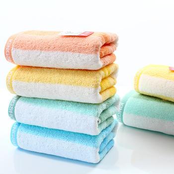 金号纯棉加厚成人洗脸毛巾3条