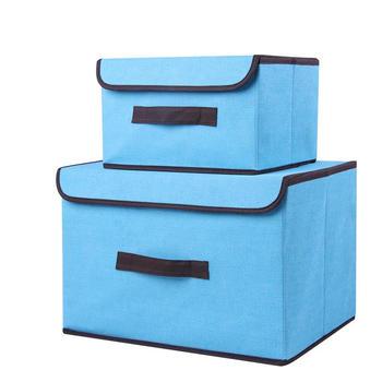 TKC无纺布收纳箱两件套套装2个装