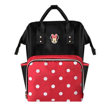迪士尼妈咪包新款妈妈双肩包背包
