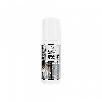 欧莱雅(L'Oreal)玩色派发彩喷雾 09 金属银 75ml