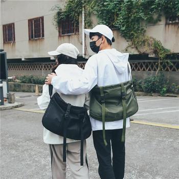萨兰丹迪新款情侣尼龙时尚单肩包