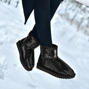 女冬季新款加绒保暖时尚雪地靴