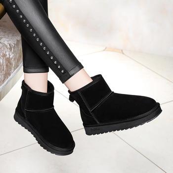 雪地靴韩版百搭防滑保暖平底棉鞋