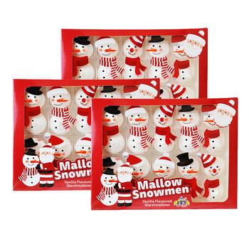 圣诞节礼盒煌星系列棉花糖60g*3盒