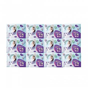 洁婷(ladycare)透气超薄日棉卫生巾245mm1片*12包