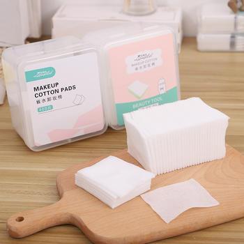 拉美拉 400片盒装干湿两用化妆棉深层清洁洁面卸妆棉