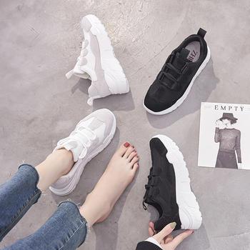 ZHR2019春季新款韩版平底运动鞋女