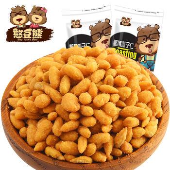憨豆熊 蟹黄瓜子仁120g*2袋装 零食