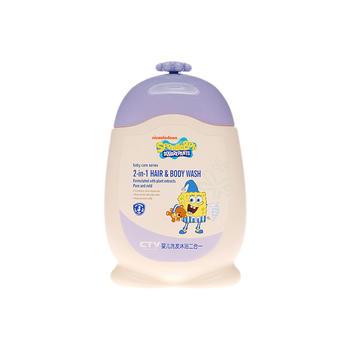 海绵宝宝婴儿洗发沐浴二合一200g限期20.10特价