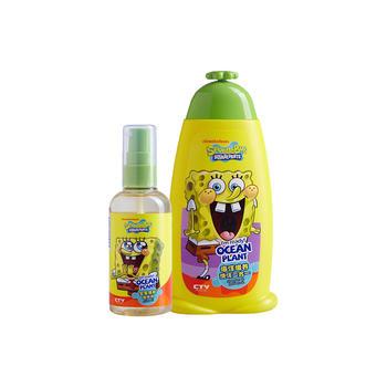 海绵宝宝儿童橄榄油100ml+洗沐二合一200g