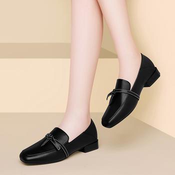平底单鞋女鞋新款冬季百搭单鞋