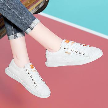 小白鞋女百搭学生秋冬季平底鞋