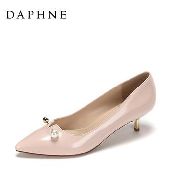 Daphne/达芙妮尖头细跟单鞋1017101056