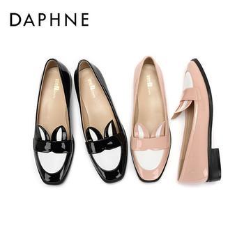 Daphne/达芙妮低跟圆头单鞋1017101700