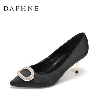 Daphne/达芙妮尖头细跟女鞋1017101001
