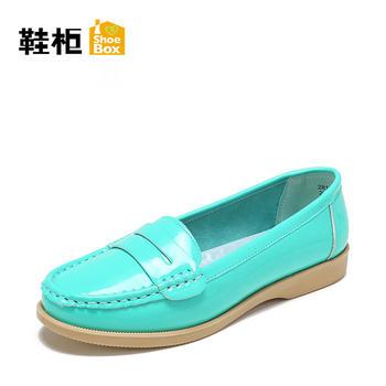 鞋柜豆豆鞋平底女单鞋2817101011