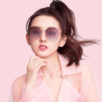 帕森明星宋祖儿同款太阳镜女时尚金属大框潮流墨镜