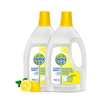 滴露衣物除 菌液清新柠檬1.5L*2送洗衣凝珠2个