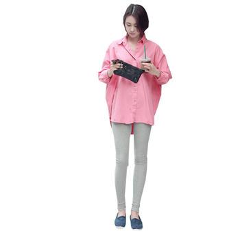 蚕坊俪 韩版时尚平口孕妇打底裤  使胎儿有安定感觉