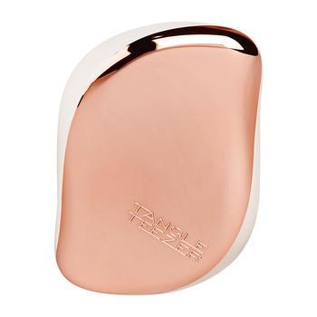 Tangle Teezer便携款防打结美发梳 玫瑰白金