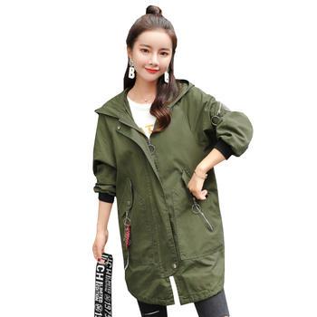 蚕坊俪 韩版时尚休闲宽松大码外套 产后穿着依旧美丽