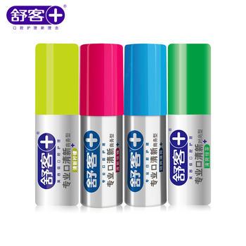 舒客口气清新口腔喷雾剂口喷便携装  去异味清新口气